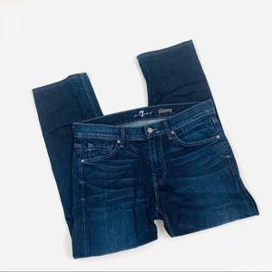 7 For All Mankind Slimmy straight Jeans 33